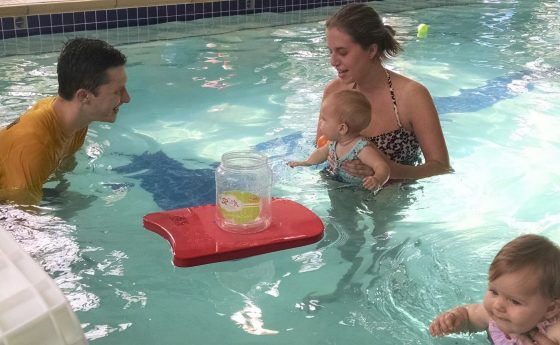Toddlers and Swimming Lessons Houston