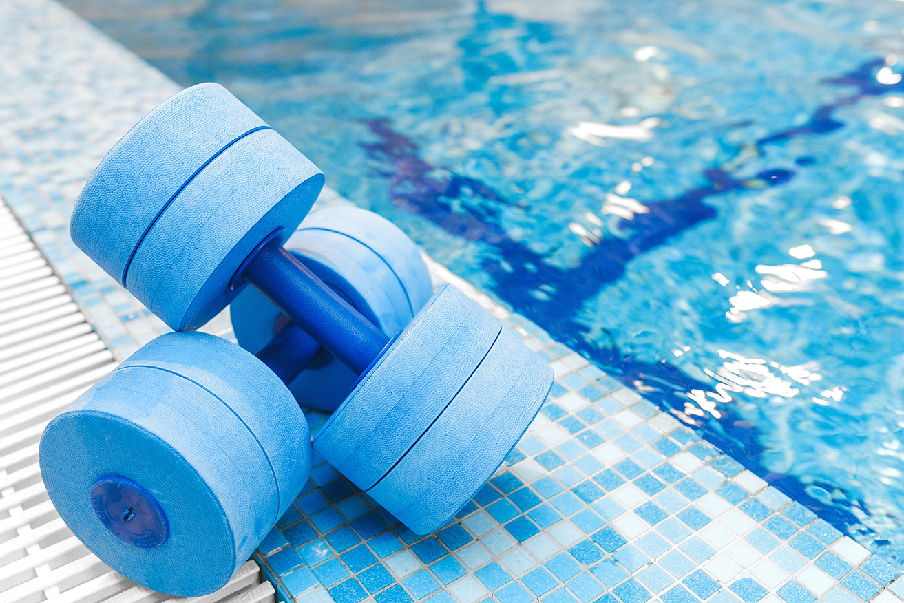 exercise equipment for swimming pool