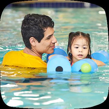 Toddler swim lessons